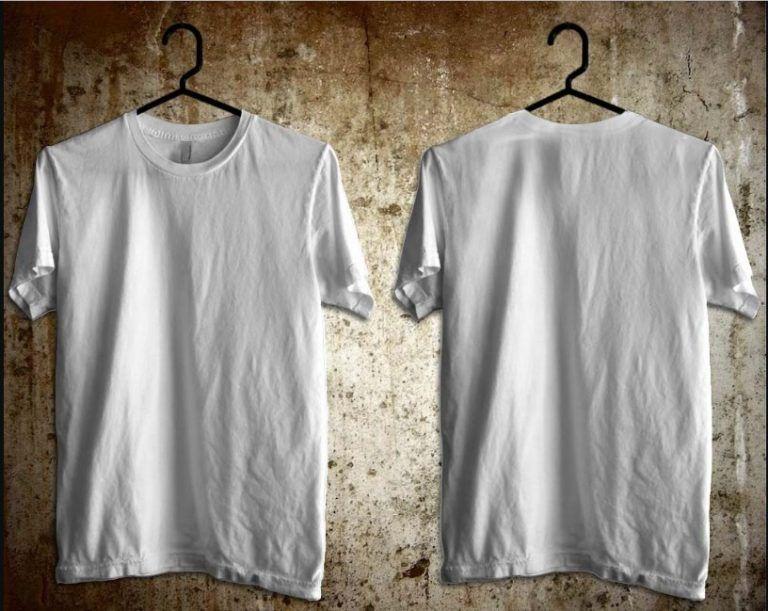 Download Desain Kaos Polos Depan Belakang Samping Kaos Pakaian Pria Baju Kaos