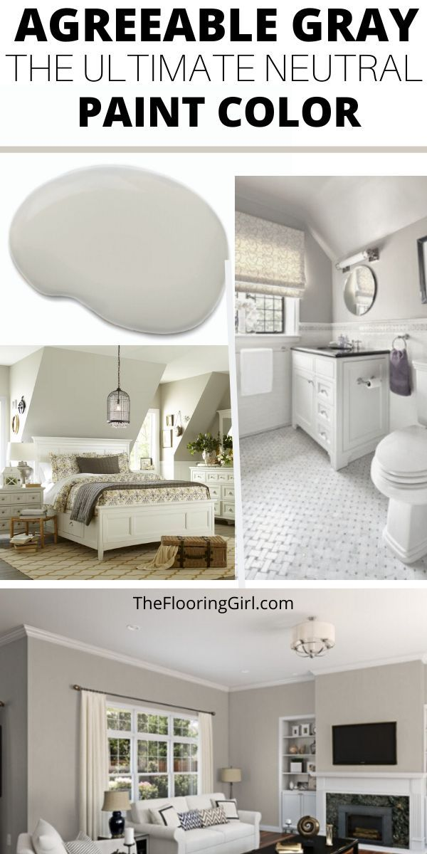 Agreeable Gray, the Ultimate Neutral Greige Paint Color