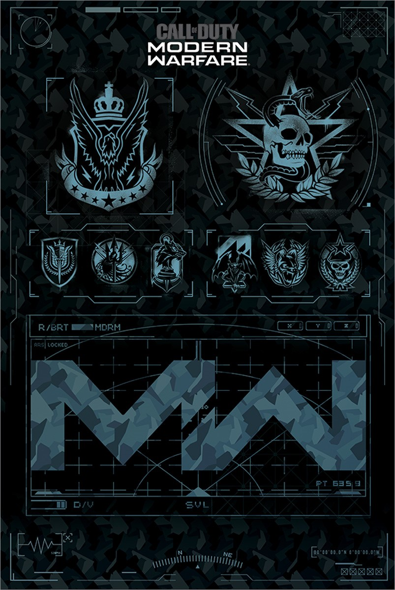 Call Of Duty Modern Warfare Fractions Maxi Poster In 2020