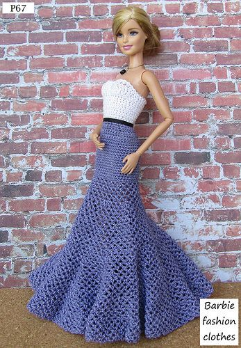P67 | Anel Lombard | Flickr #crochetedbarbiedollclothes
