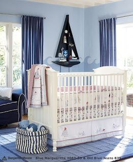 boy baby room nautical designs | ... , bedskirt, and two fitted sheets at our baby shower and I LOVE it