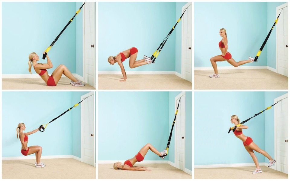Workout Anywhere With A Trx Cable Exercise Workout Fitness
