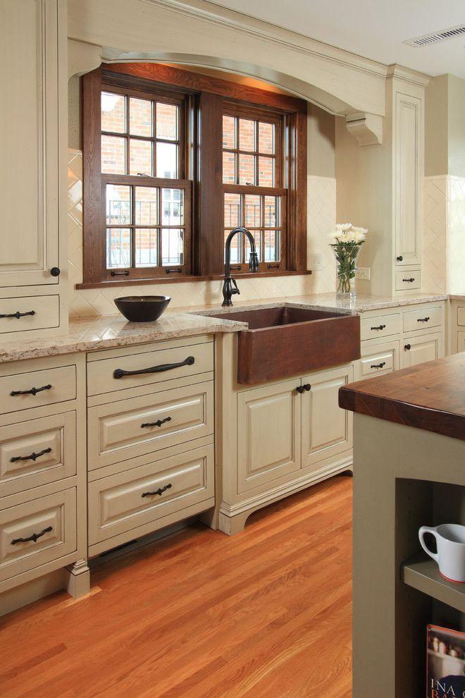 kitchen loans retro sinks pretty copper sink house designs traditional minneapolis home apron front arch bronze cambria cream distressed