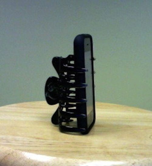 Hey Use your hair clip as Low-Tech phone stand for your phone. #Hacks For…