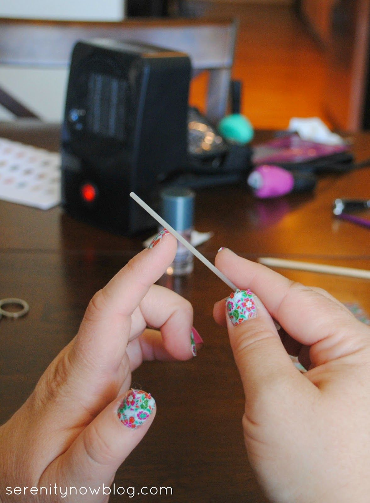 Jamberry Nails Tutorial (Step by Step!) from Serenity Now - and a ...