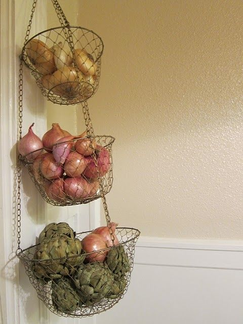 Is Your Pantry A Mess Is It Hard To Find What You Re Looking For And Impossible To Keep On Top Of What S Ex Onion Storage Kitchen Wall Storage Potato Storage
