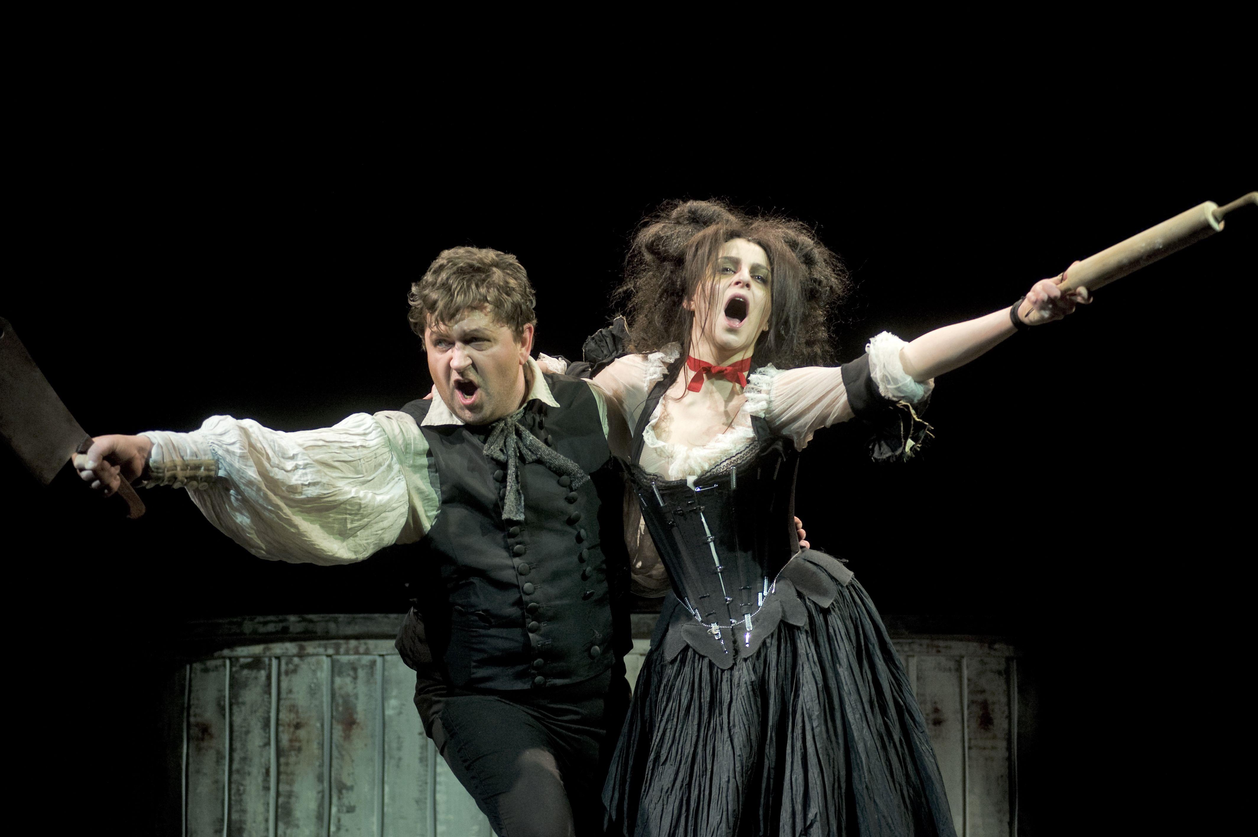 Dainius Stumbras & Asmik Grigorian singing their hearts out.  Photo by D. Matvejev.
