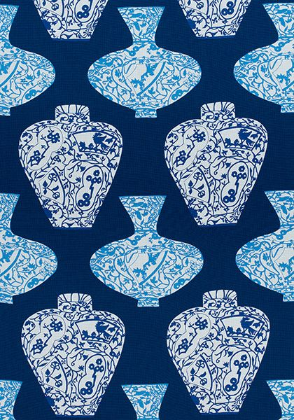 IMARI VASE, Navy, F913124, Collection Summer House from