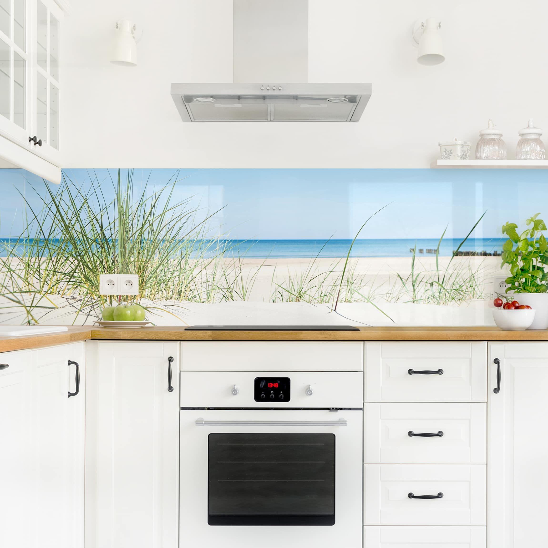Kuchenruckwand Ostseekuste In 2020 Kuchenruckwand Kuche Und Kuchen Ruckwand
