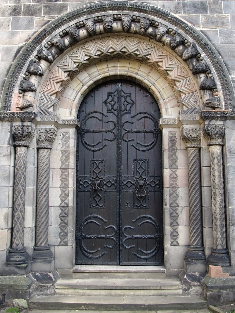 Gothic Architecture Door Pinned by ChiRenovation