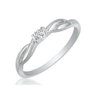 Promise Rings Cheap Promise Rings Beautiful Twist Band 07ct Diamond Promise Ring In 10k White Gold Superjeweler Diamond Promise Cute Promise Rings Vintage Engagement Rings