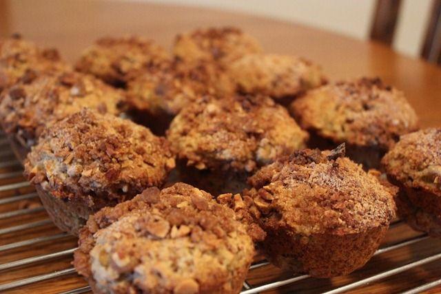 Rhubarb Streusel Muffins   Sweet Basil Kitchen