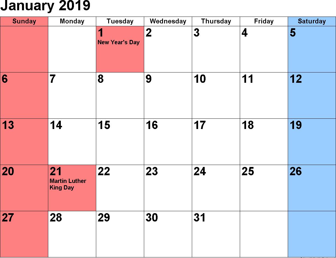2019 January Calendar 2019 January Calendar | 250+ January 2019 Calendar | May 2018