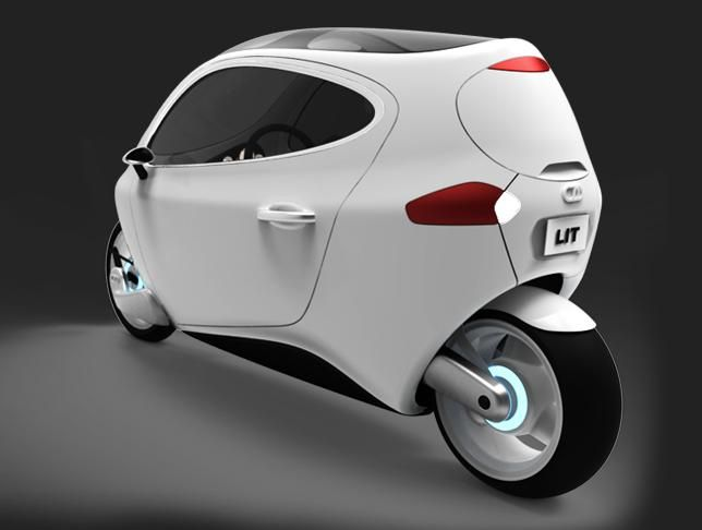 Motorcyle Reinvented C 1 From Lit Motors Lit Motors Futuristic