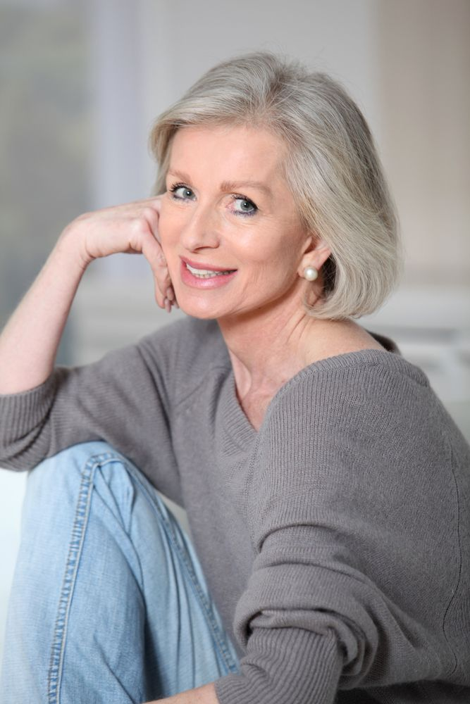 Gray Hairstyles gray hairstyles mommy hairstyles layered hairstyles hairdos aging gracefully going gray haircolor hair beauty beauty tips 21 Short Hairstyles For Older Women To Try This Year