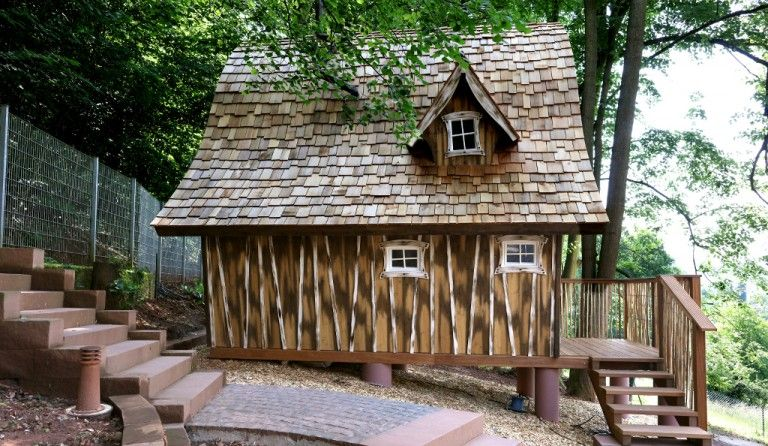 Übernachten im Hexenhaus House styles, House, Tiny house