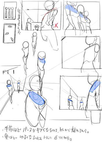 Perspectiva | Poses | Pinterest | Perspectiva, Dibujo y Anatomía