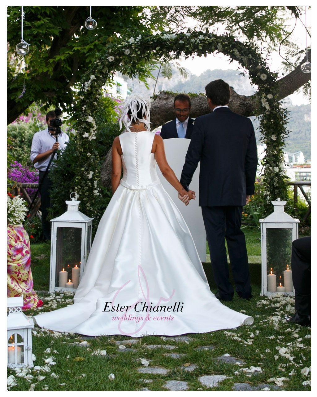 Symbolic Ceremony in Amalfi Coast | Ester Chianelli Wedding&Event Planner www.esterchianelli.com