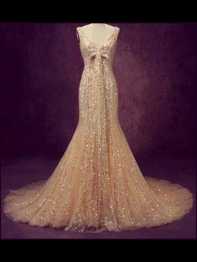 Blinged out wedding dress  Pin by Ree Nicole on Gorgeous Prom Dress Ideas   Pinterest