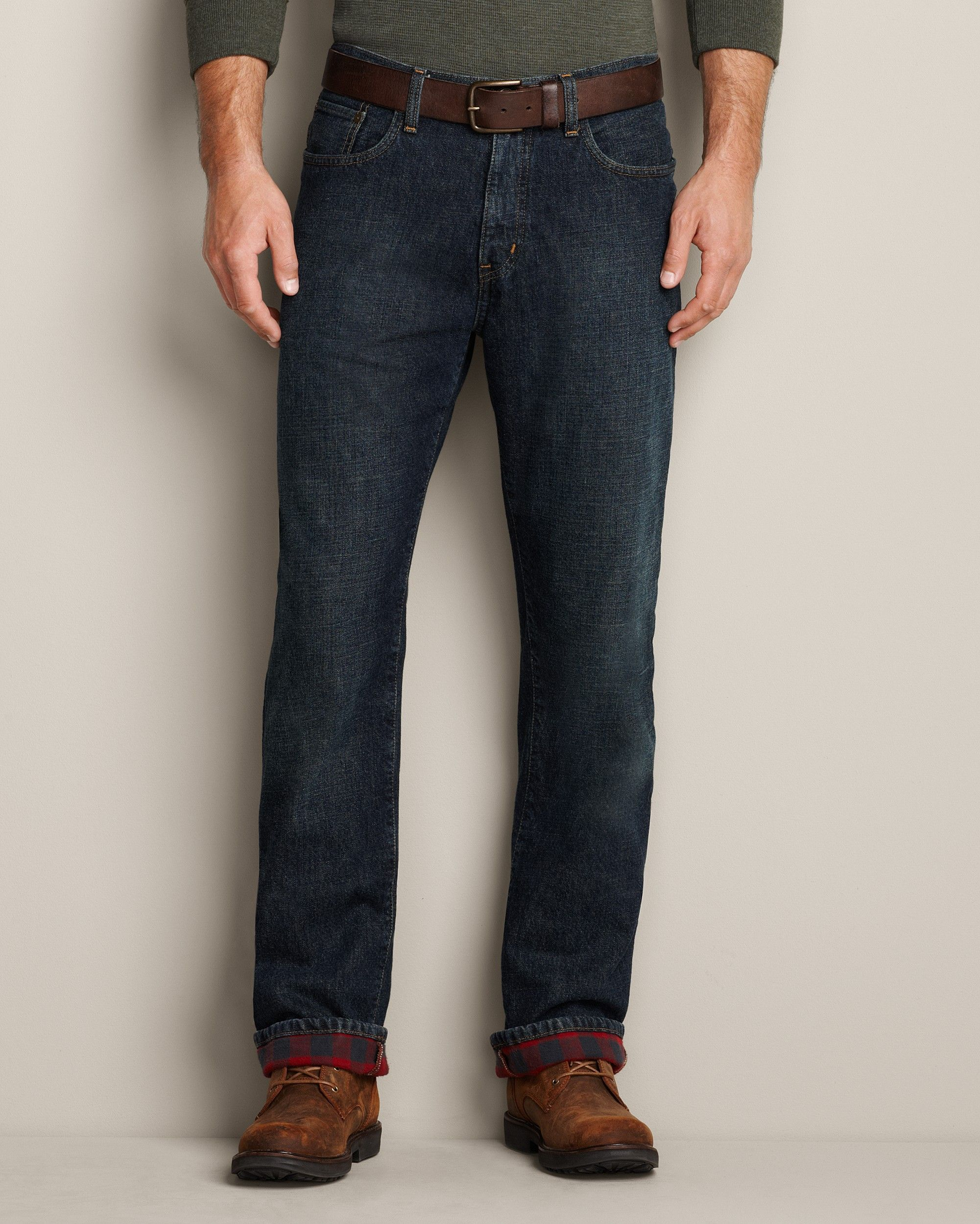 Lined Bauer69 Flannel Fit JeansEddie Even Relaxed 95 Rugged l1uKJ3FcT5
