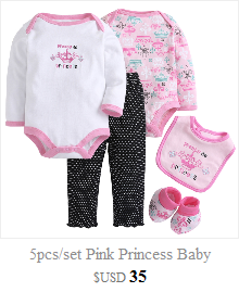 bac9e8235c6d Aliexpress.com  Comprar 5 unids set bebé ropa bebe bodysuit + Pant + ...