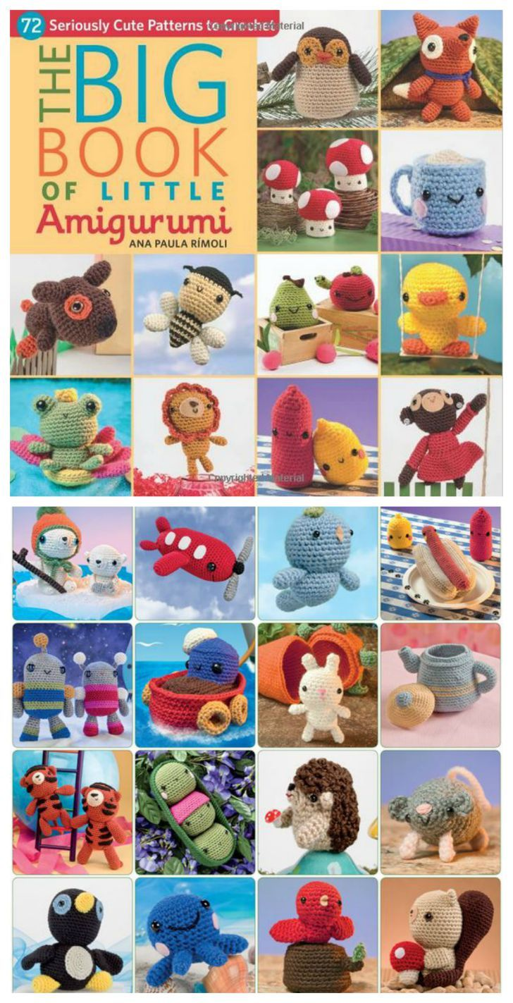 The big book of little amigurumi 72 cute crochet patterns the big book of little amigurumi 72 cute crochet patterns bankloansurffo Image collections