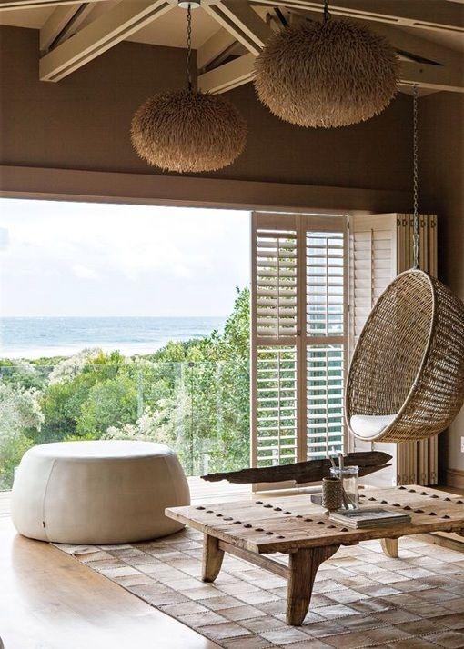 Decoracin de estilo tnico mirador de casa surafricana For My