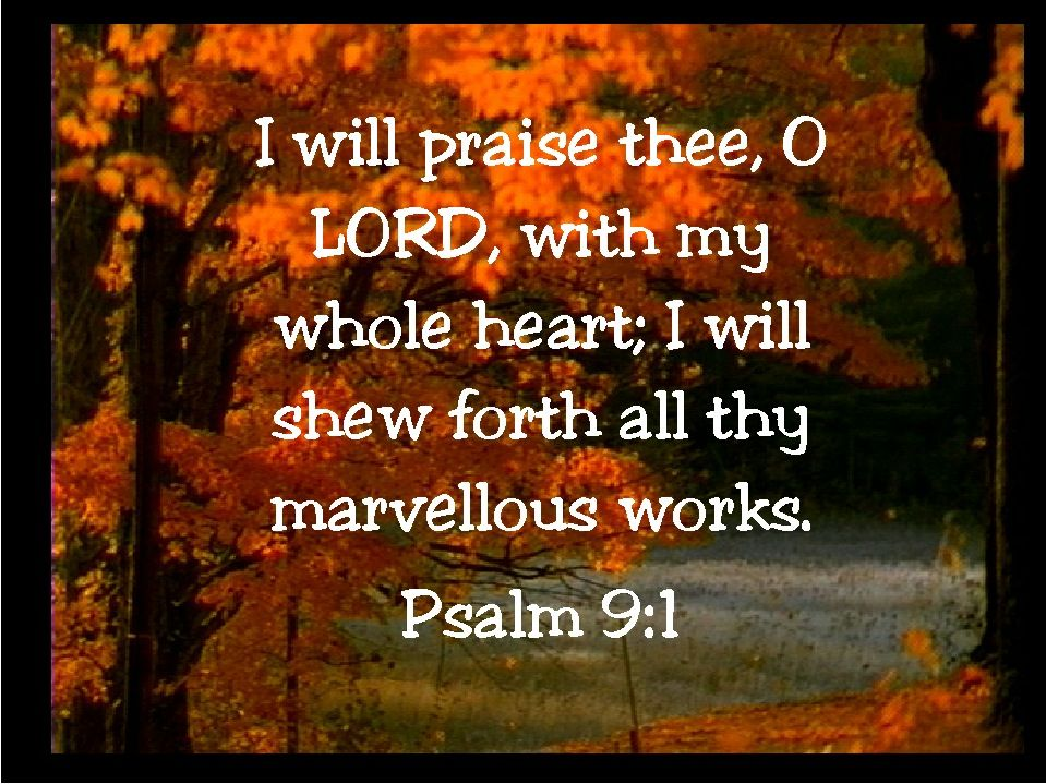 Image result for kjv bible verses autumn