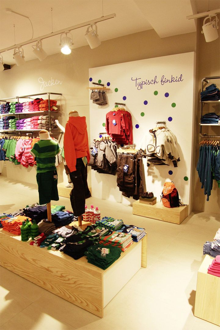 fc4ad304149 FINKID children clothing concept store by The Store Designers, Erfurt store  design
