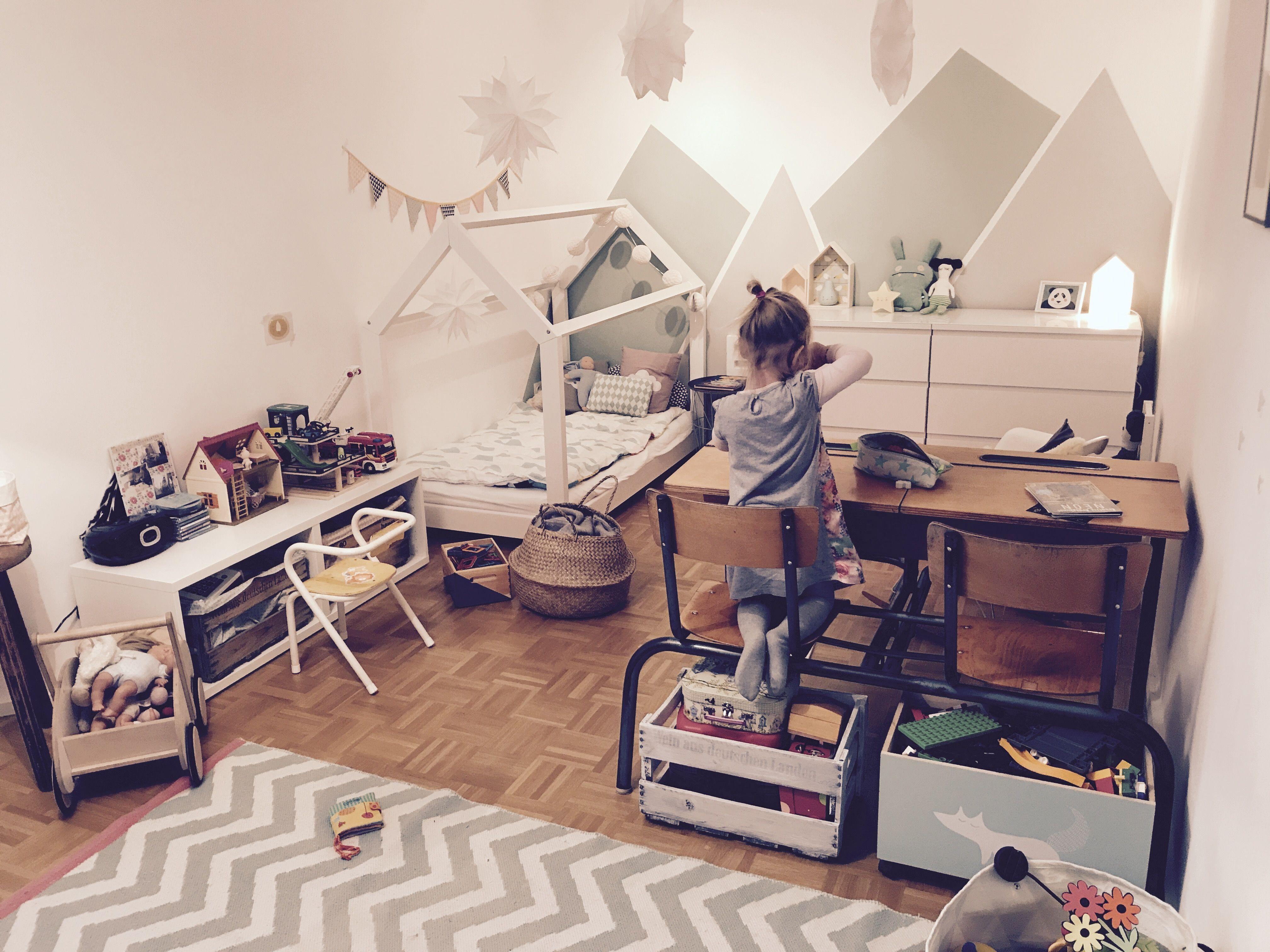 Kinderzimmer hausbett
