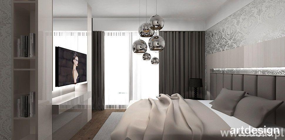 Modne Wnętrza W Stylu Glamour Zobacz Projekt Nowoczesnego