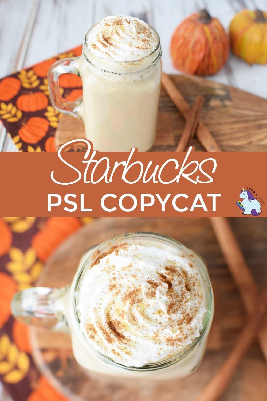 Copycat Pumpkin Spice Latte Recipe Pumpkin spiced