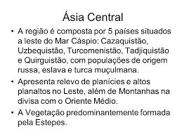 Resultado de imagem para asia central