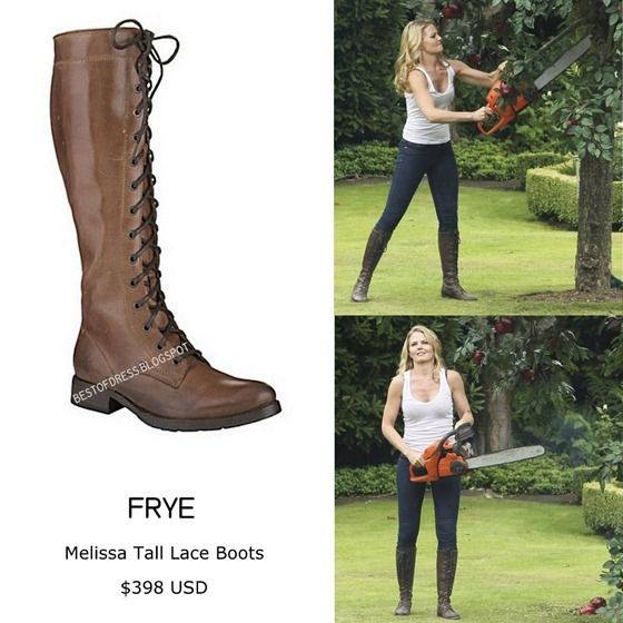 48acfedda93 FRYE - Melissa Tall Lace Boots. These can bought on www.dillards.com ...
