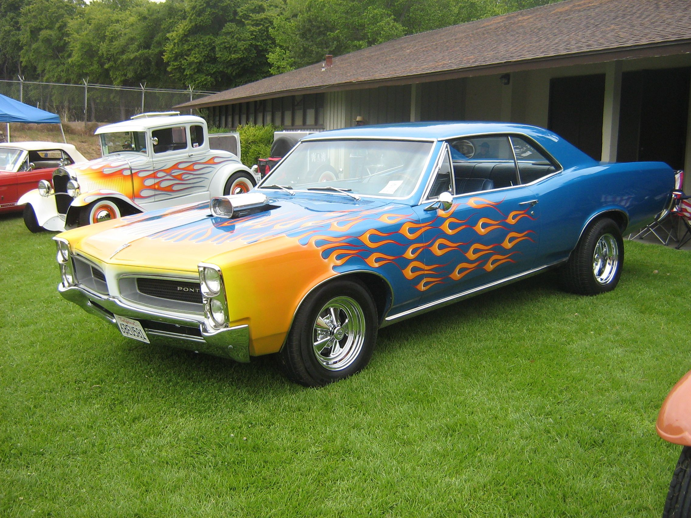 Hot Rod Muscle Car Pontiac Muscle Cars Hot Rod Tuning Wallpaper