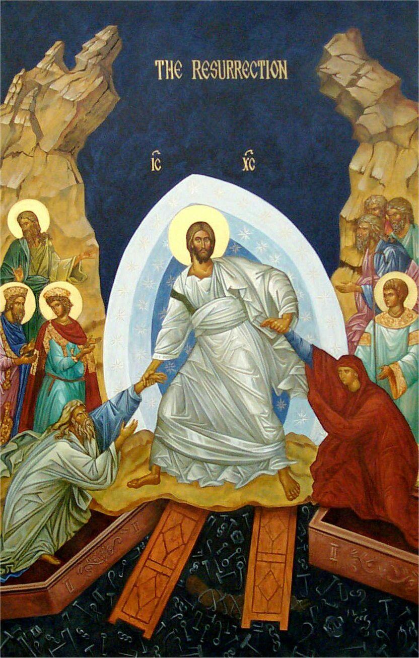 Bildresultat för jesus i helvetet