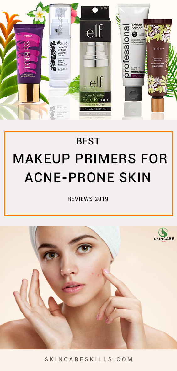 Best Makeup Primers For Acne Prone Skin Best Primer For Acne Makeup Primer Acne Prone Skin