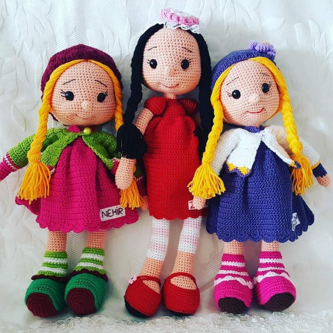 Pin von Tatiana auf Амігурумі | Pinterest | Gehäkelte puppen, Puppen ...