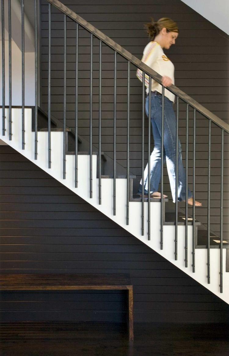 garde corps interieur blanc - Recherche Google | Stairs | Pinterest ...