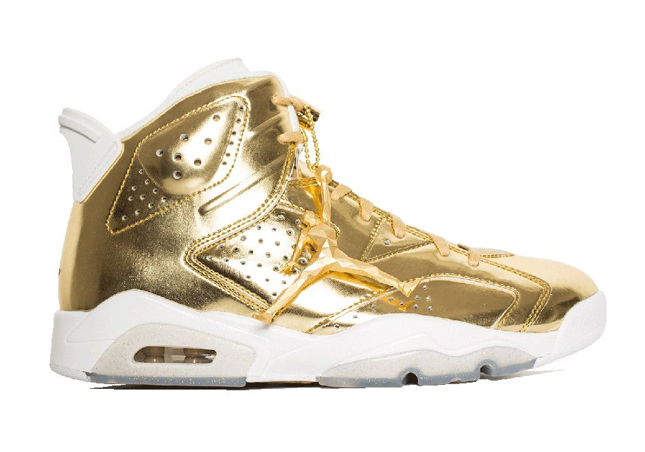 5fae7006a047  sneakers  news The Air Jordan 6 Pinnacle In Gold Releases With Awesome  Hangtag