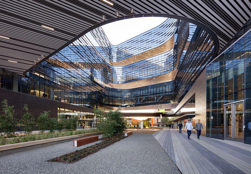 Samsung America Headquarters NBBJ Silicon valley