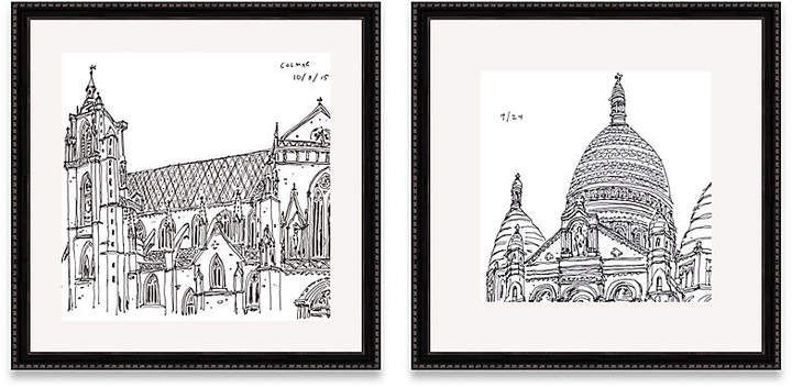 Diptych Art Drawing