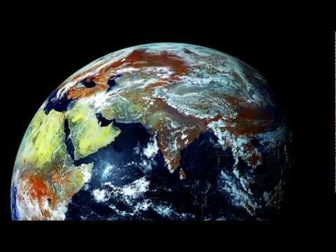 Planet Earth S Northern Hemisphere A Time Lapse Of Planet Earth Created From Images Produced By The Geostationary Elec Earth Photos Earth From Space Planets