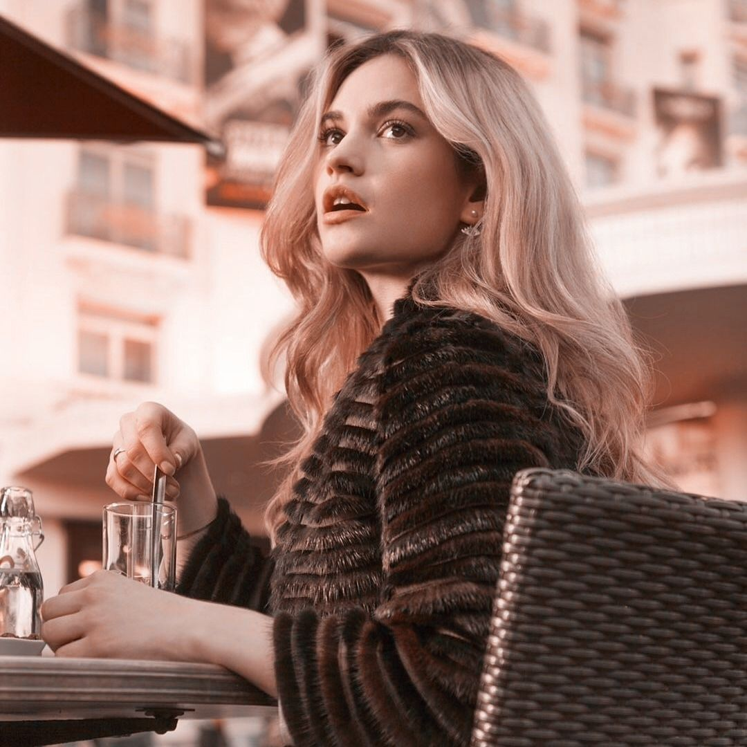 Welcome Lily James Icons Like Or Reblog If Use Don T In 2020 Lily James Girl Pictures Girl Icons
