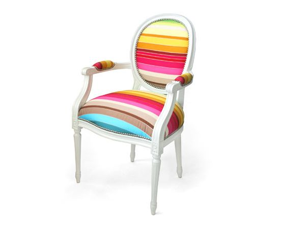 Great I Love This Colorful Chair... Classic Chair In Vibrant Colors | DigsDigs