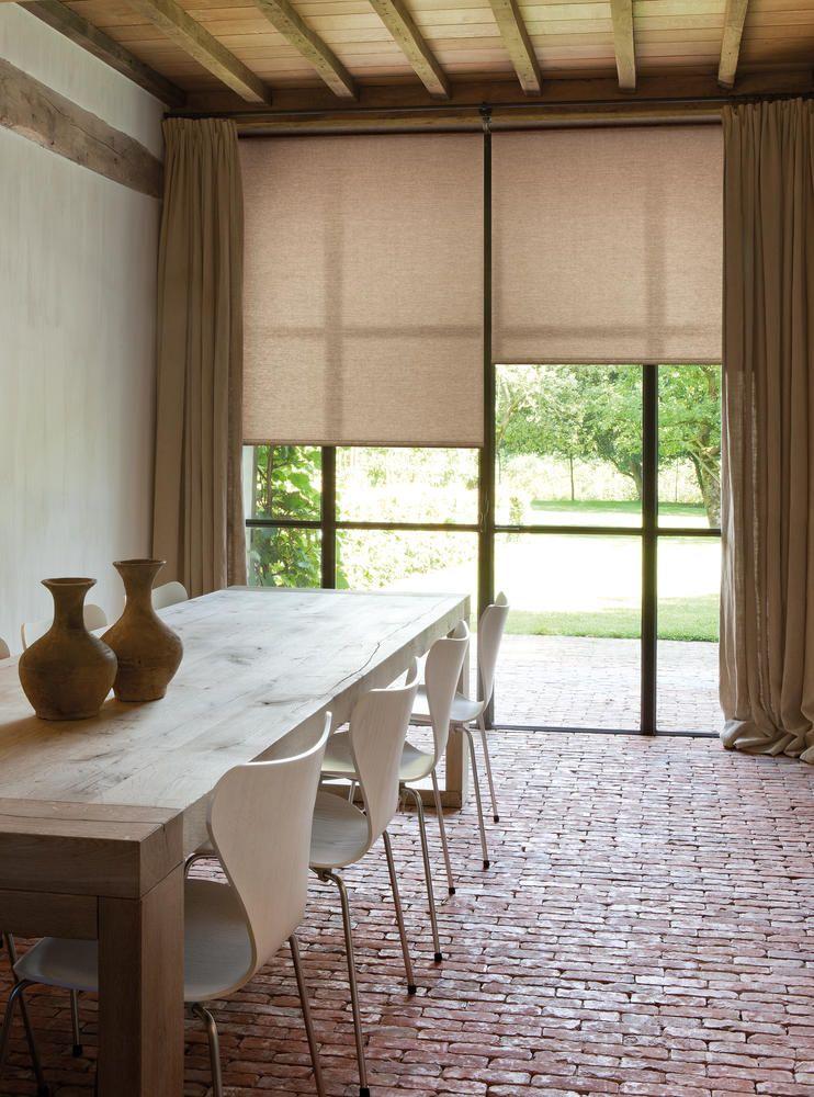Copahome rolgordijn, beige, naturel   Stores enrouleurs Keep it - store enrouleur screen interieur