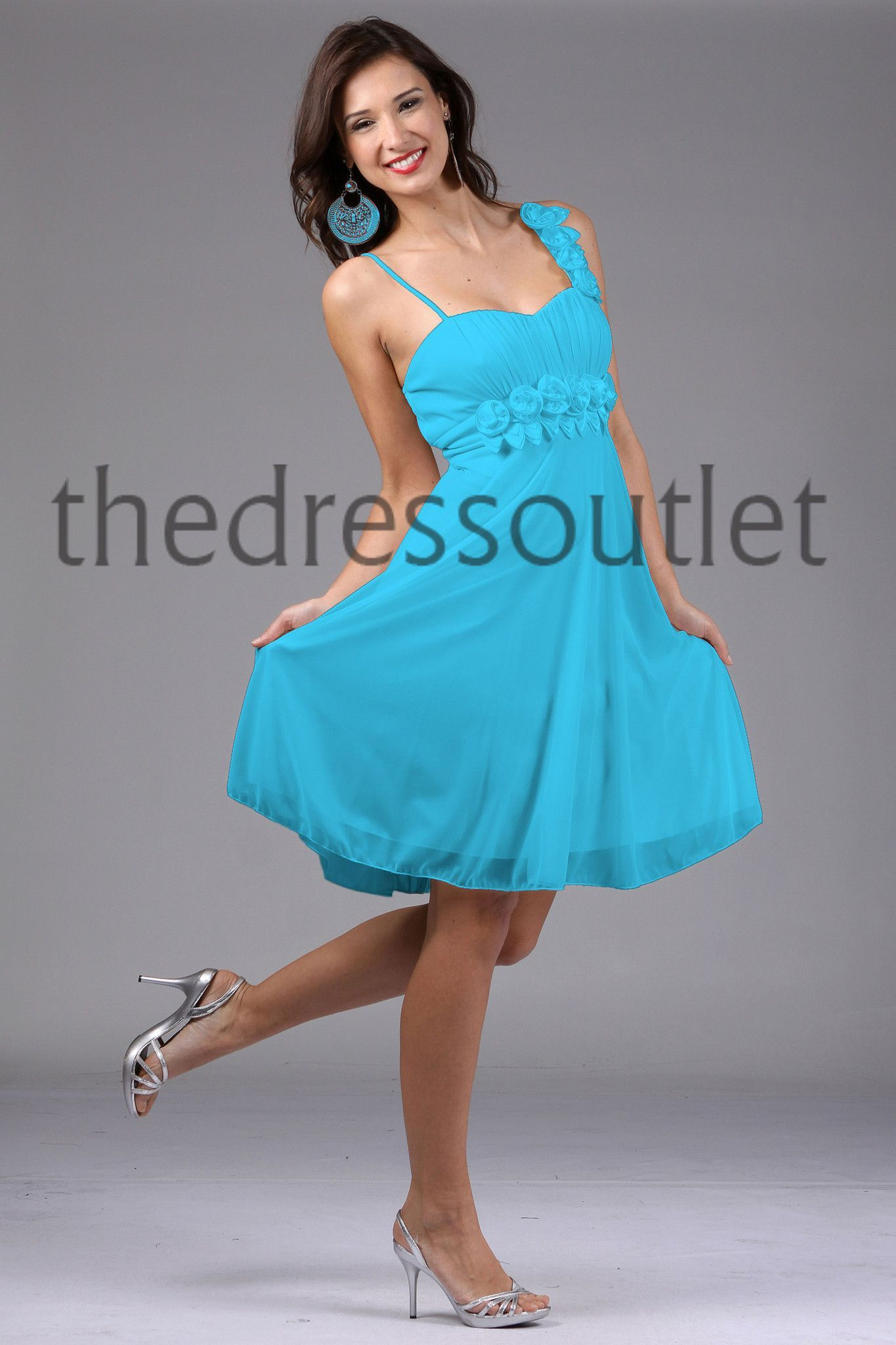 Knee length short simple bridemaids cocktail semi formal semi knee length short simple bridemaids cocktail semi formal the dress outlet 1 ombrellifo Gallery
