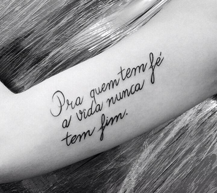 Frase O Rappa Tatoo Pinterest Tatuagem Feminina Tatuagem E
