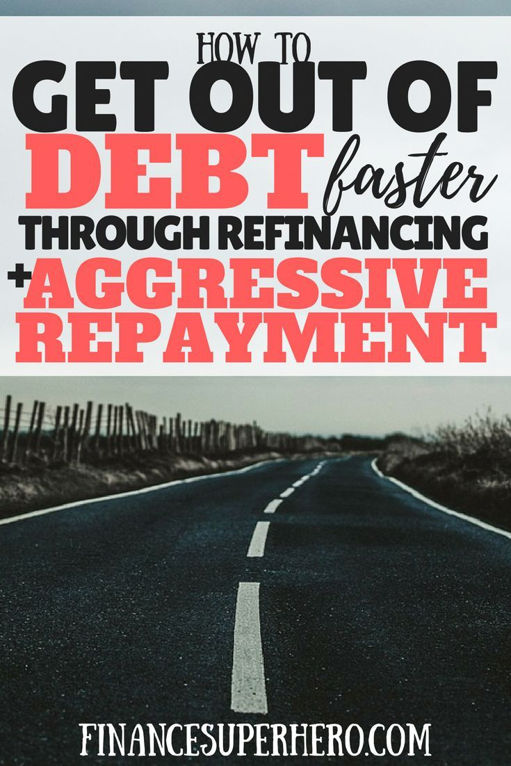 pay off debt | debt freedom | Dave Ramsey | debt advice | how to refinance debt | student loans ...