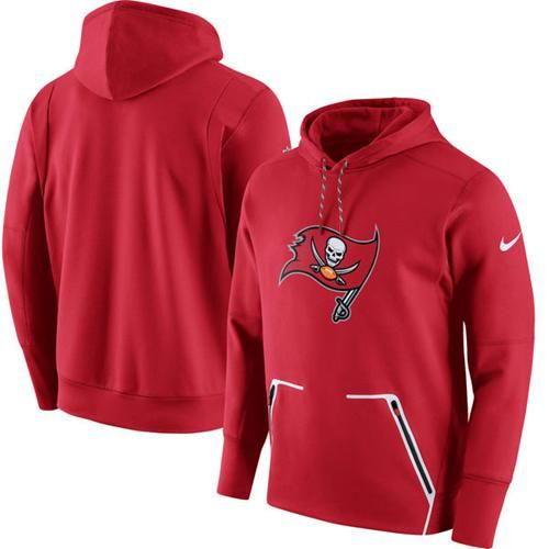 Hot Men's Tampa Bay Buccaneers Nike Red Champ Drive Vapor Speed Pullover  for cheap